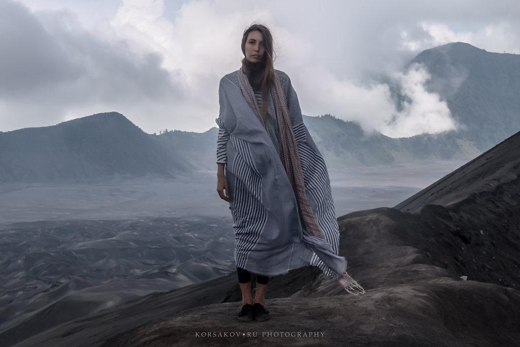 Volcanic goddess