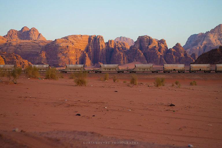 Desert railroad (Jordan)