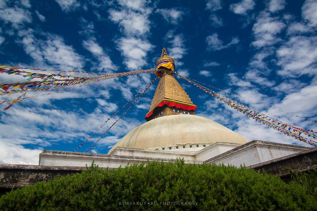 Boudhanath stupa (Nepal)