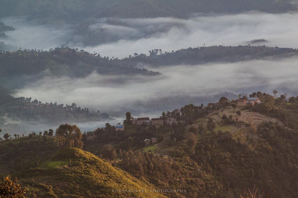 Hills in Nepal