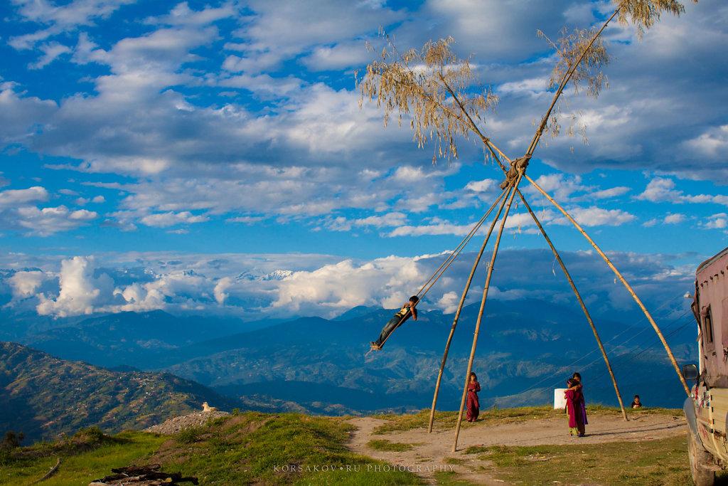 Celebrating life (Himalayas)