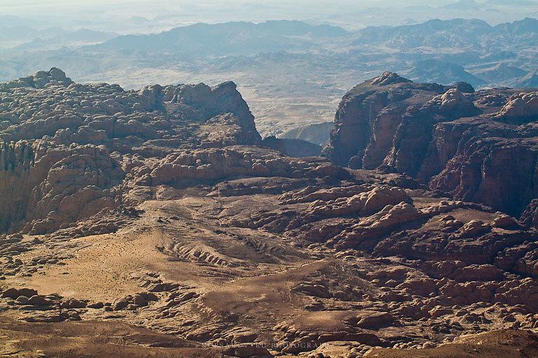 Prehistoric desert view